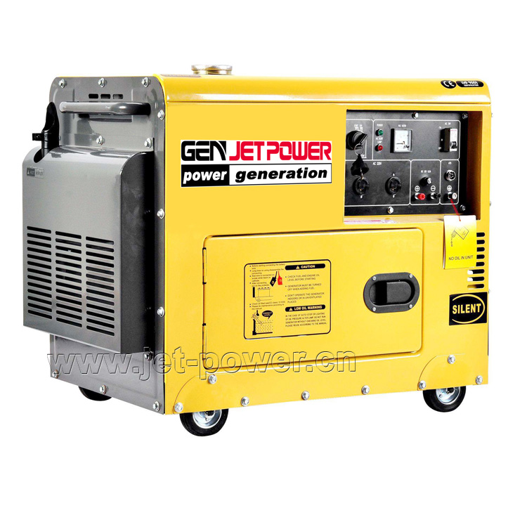 Silent Air Cooled Diesel Generator Set