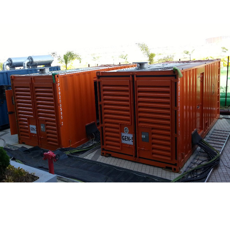 1000KVA *2  Container Generator for parallel operation