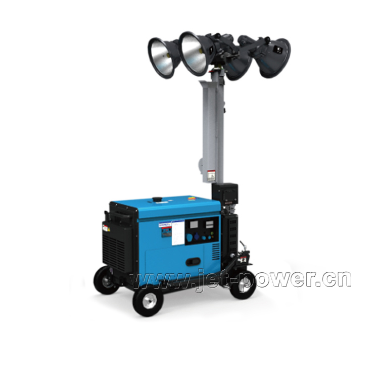 Portable Mobile Light Tower Generator Set