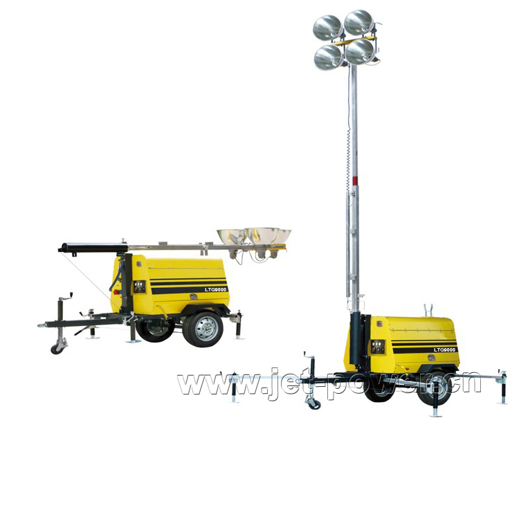 Mobile Light Tower Generator Set